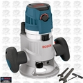"Bosch MRF23EVS 2.3HP Fixed Base Router 1/2"" & 1/4"" Collets Inc."