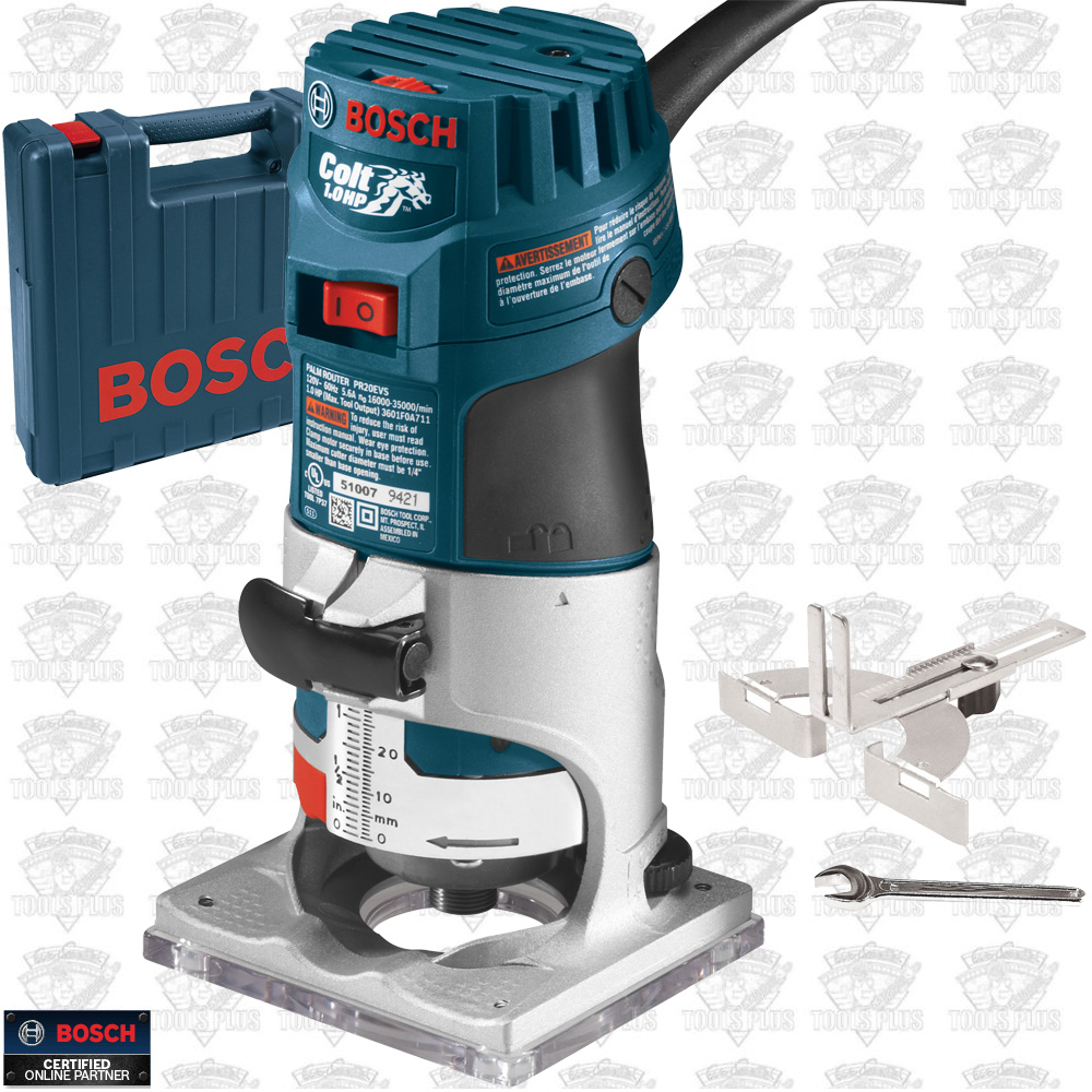 Bosch pr20evsk 1hp colt variable speed electronic palm router recon kit greentooth Images