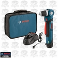 "Bosch PS11-102 12-Volt Li-Ion Max 3/8"" Right Angle Drill/Driver Kit"