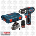 "Bosch PS31-2AL 12V Max Cordless Litheon 3/8"" Drill/Driver with L-Boxx"