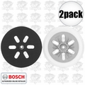 "Bosch RS6046 6"" Hook and Loop Medium Backing Pad 2x"