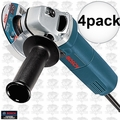 "Bosch Tools 1375A 4pk 4-1/2"" Small Angle Grinder - 6 Amp"