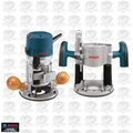 Bosch Tools 1617EVSPK 2.25 HP Plunge + Fixed-Base Vari-Spd Router Kit Recon