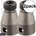 "Bosch Tools 31895 2x 3/8"" Female Square Drive Bit Holder for 1/4"" Hex Bits"