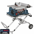 "Bosch Tools 4100-09 10"" Worksite Table Saw with Gravity Rise Stand"