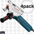 Bosch Tools AG50-10TG 4pk 10 Amp Angle Grinder with Tuckpointing Guard