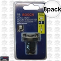 "Bosch Tools AN02-C 8pk 1-1/4"" - 6"" Universal Quick-Change Adapters"