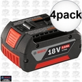 Bosch Tools BAT621 4pk 5.0ah 18v FatPack Battery 'a Better BAT620'