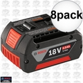 Bosch Tools BAT621 8pk 5.0ah 18v FatPack Battery 'a Better BAT620'
