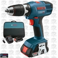 Bosch Tools DDB180-02-RT 18v Compact Tough Cordless 2x Lithium-Ion BATT DDriver