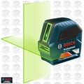 Bosch Tools GLL 100 G Self-Leveling GREEN-BEAM Cross-Line Laser