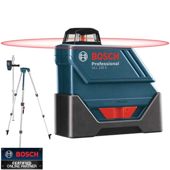 Bosch Tools Gll150eck Self Leveling 360 Exterior Laser Complete Kit