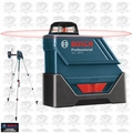 Bosch Tools GLL150ECK Self-Leveling 360° Exterior Laser Complete Kit OB