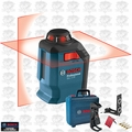 Bosch Tools GLL2-20 360 Degree Self-Leveling Line and Cross Laser O-B