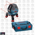 Bosch Tools GLL3-50 Three Line Laser with Layout Beam w/ L-Boxx OB