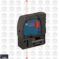 Bosch Tools GPL2-RT 2-Point Self-Leveling Class II 635-670 nm Laser Level