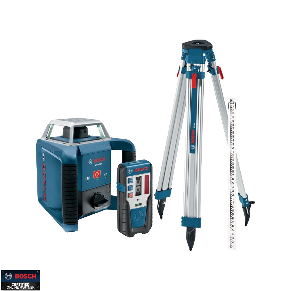 Bosch Tools Grl400hck Self Leveling Rotary Laser Plus