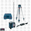 Bosch Tools GRL500HCK Self-Leveling Rotary Laser 1650' Distance Complete Kit