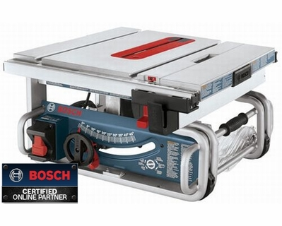 Bosch tools gts1031 10 portable jobsite table saw Bosch portable table saw