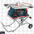 Bosch Tools GTS1041A-09 REAXX Jobsite Table Saw w/Gravity Stand + Outfeed OB