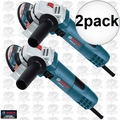 "Bosch Tools GWS8-45-2P 2pk 4-1/2"" Small Angle Grinder"