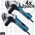 "Bosch Tools GWS8-45-2P 4x 2pk 4-1/2"" Small Angle Grinder"