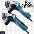 "Bosch Tools GWS8-45-2P 8x 2pk 4-1/2"" Small Angle Grinder"