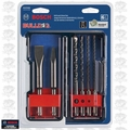 Bosch Tools HCST006 6pc SDS-Plus Bulldog Rotary Hammer Bit Set