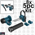 Bosch Tools HDC300 8pk SDS-Max and Spline Hammer Dust Collection Attachment