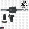 "Bosch Tools PCM38AN 4x 3pc 3/8"" Universal Quick Change Mandrel Kit"