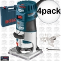 Bosch Tools PR20EVSK-RT 4pk 1HP Colt VS Electronic Palm Router Kit