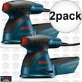 "Bosch Tools ROS20VSC-RT 2pk 5"" VS Palm Random Orbit Sander Kit w/ Canvas Bag"