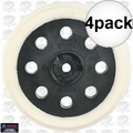 "Bosch Tools RS030 4pk 5"" Extra Soft Hook and Loop Replacement Pad"
