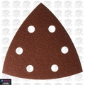 Bosch Tools SDTR042 25pk 40 Grit Triangle Hook + Loop Sanding Sheets for Wood
