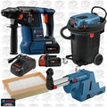 Bosch Tools VAC140A 14G Dust Extractor +Rotary Hammer w/HEPA Dust Collection