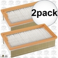 Bosch Tools VF120H 2pk Flat Pleated HEPA Filter for VAC090 / VAC140