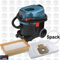Bosch VAC090A 9GAL HEPA Dust Extractor /w HEPA Filter + Dust Bag