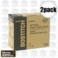 "Bostitch BA-38010LS 2pk of 18,000 3/8"" Furniture Staples"