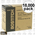 "Bostitch BA-38010LS 18,000pk 3/8"" Furniture Staples"