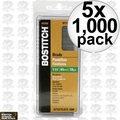 "Bostitch BT1345B-1M 5pk 1000 Pack 1-3/4"" 18-Gauge Brads"