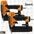 "Bostitch BTFP12233 2pk Smart Point 5/8"" to 2-1/8"" 18GA Brad Nailer Kit"