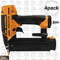 "Bostitch BTFP12233 4pk Smart Point 5/8"" to 2-1/8"" 18GA Brad Nailer Kit"