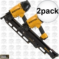 Bostitch F21PL 2pk Round Head Framing ~ Metal Connector Nailer 2 Nose Pcs
