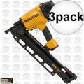 Bostitch F21PL 3pk Round Head Framing ~ Metal Connector Nailer 2 Nose Pcs