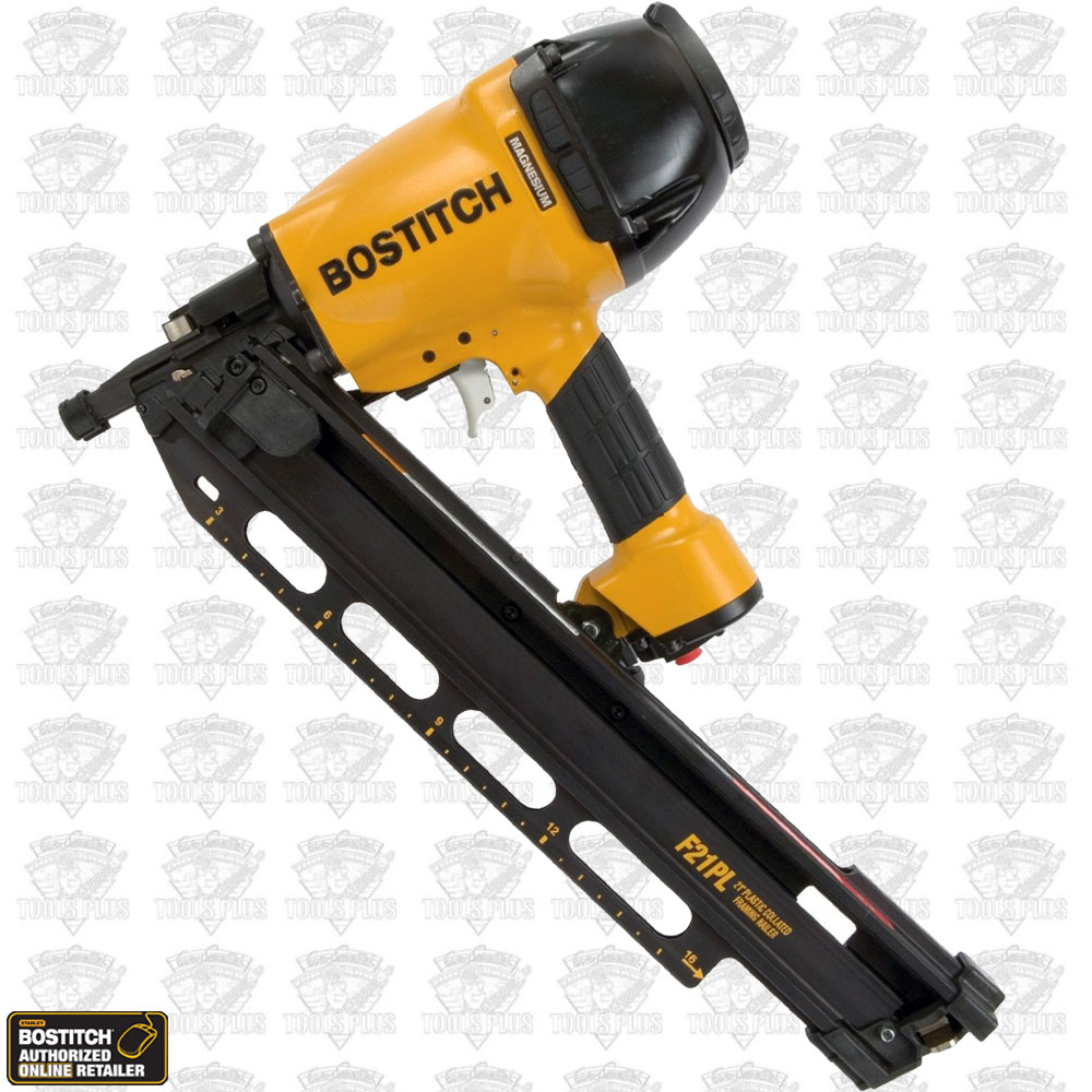 Bostitch F21PL Round Head Framing ~ Metal Connector Nailer 2 Nose Pcs