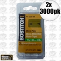 "Bostitch PT-2330-3M 2pk 3,000 Pack 1-3/16"" 23GA Headless Pin Nails"
