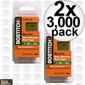 "Bostitch PT-2330-3M 3,000 Pack 1-3/16"" 23GA Headless Pin Nails 2x"