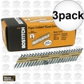 "Bostitch PT-MC14815GAL1M 1-1/2"" x .148 35 deg. Strapshot Nails 3x"