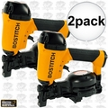 """Bostitch RN46-1 2pk 3/4"""" to 1-3/4"""" 15 Deg. Coil Roofing Nailer"""