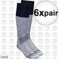 Carhartt A66 6pk Cold Weather Boot Socks Navy Large